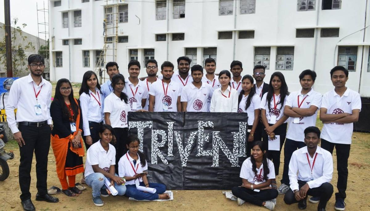 TRIVENI'19-Escalating the technical buzz.